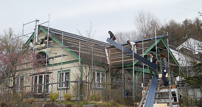 リフォーム工事 屋根葺替え