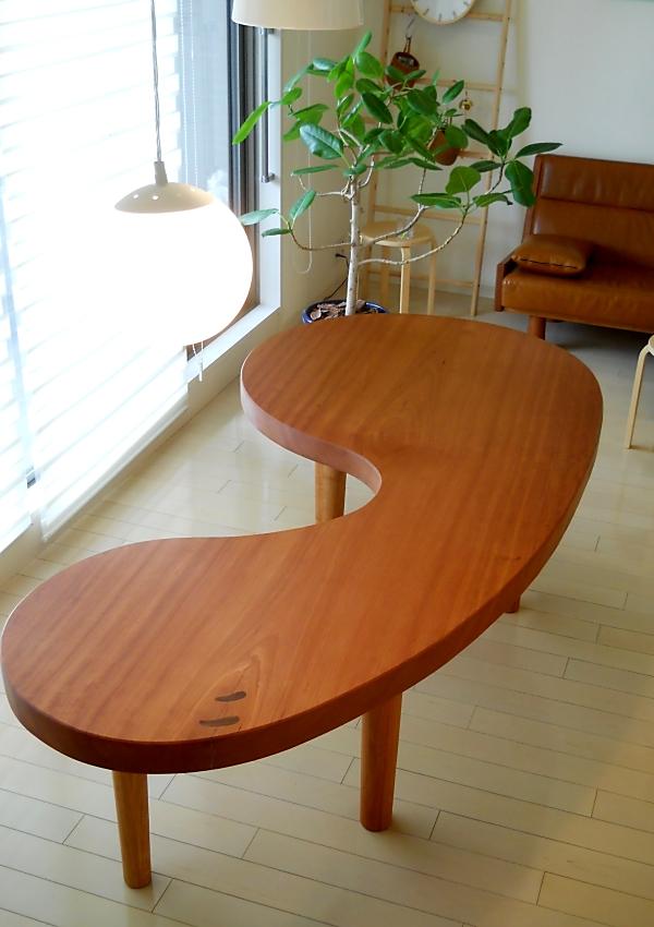 オーダー家具 変形テーブル
