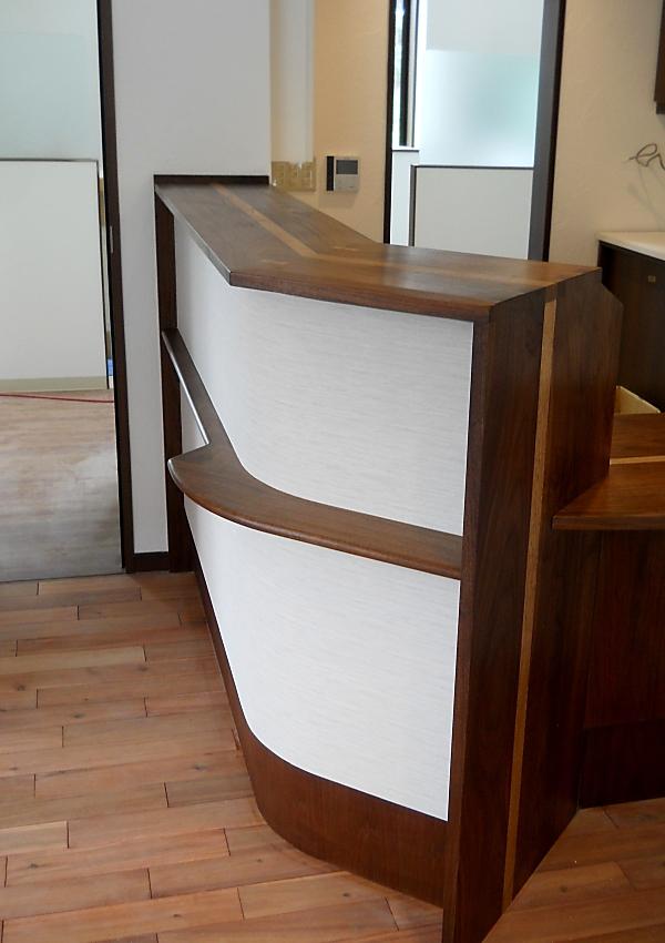 造り付け家具 受付カウンター