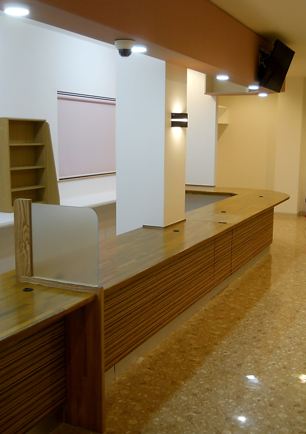 造り付け家具 カウンター