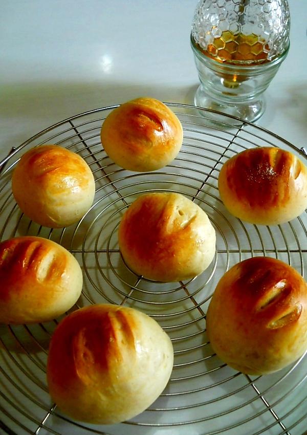 夕焼けの次はパン焼き