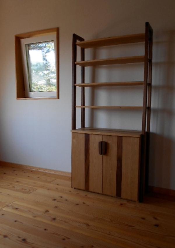 オーダー家具 本棚、飾り棚